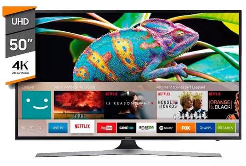 smart tv 4k 50 samsung un50mu6100 ( 4 meses )