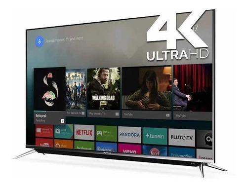 smart tv 4k 50 skyworth con control de voz