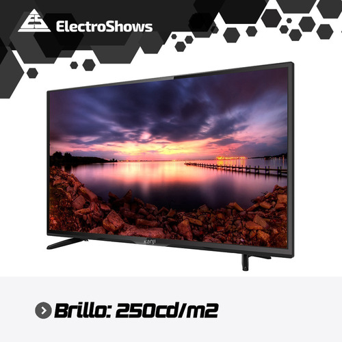 smart tv 4k 55 pulgadas kanji wifi hdr netflix youtube