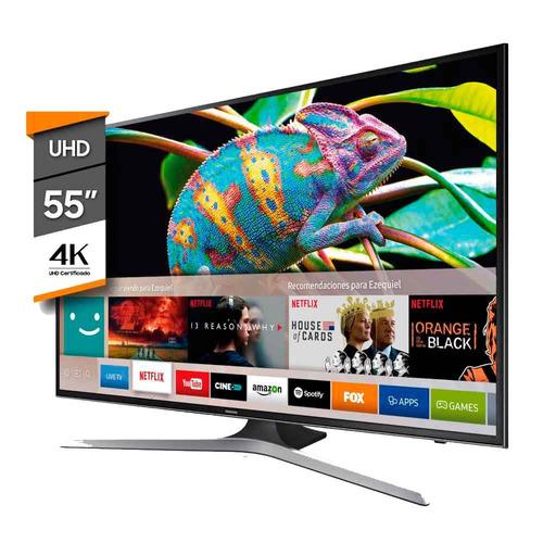 smart tv 4k 55  samsung un55mu6100
