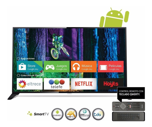 smart tv 4k 65 philips powered by android mod. 65pug6801/77