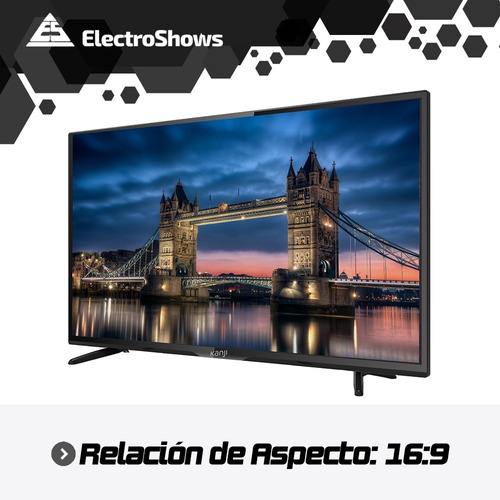 smart tv 4k 65 pulgadas kanji wifi hdr netflix youtube