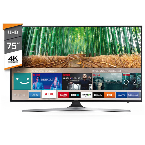 smart tv 4k 75 pulgadas samsung ultra hd 75mu6100