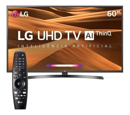 smart tv 4k led 60 lg um7270psa, 3hdmi, 2usb, webos, wi-fi