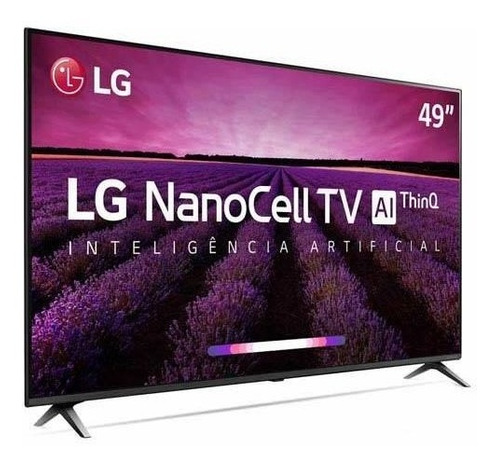 smart tv 4k lg 49 nanocell ai 4k hdr dolby 49sm8000psa