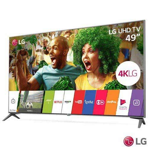 smart tv 4k lg led 49 upscaler 4k ultra luminância 49uj7500