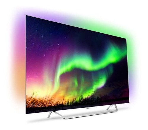 smart tv 4k philips oled c/ ambilight y android 55oled873/77