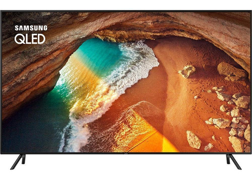 smart tv 4k qled 55 samsung, wi-fi, hdr, conversor digital,