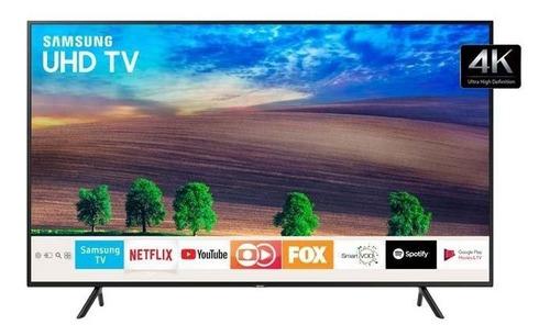 smart tv 4k samsung 65 ru7100, uhd, 3 hdmi, 2 usb, wi-fi