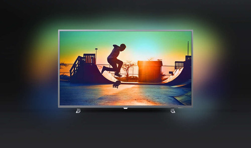 smart tv 4k uhd 55 philips ambilight 55pug6703/77 18 cuotas