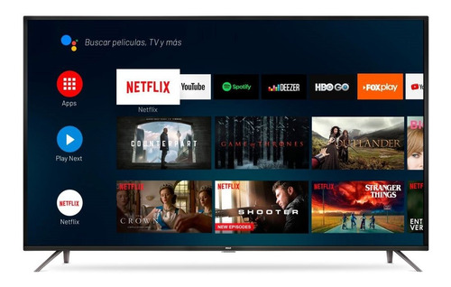 smart tv 50'' 4k rca x50andtv 3840×2160 hdmi android tv 12c