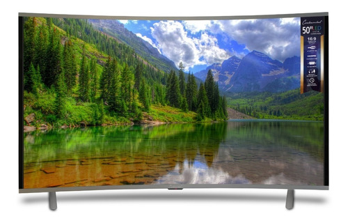 smart tv 50 curvo - uhd 4k - continental