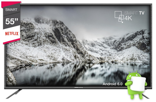 smart tv 55 4k crown mustang android 6.0