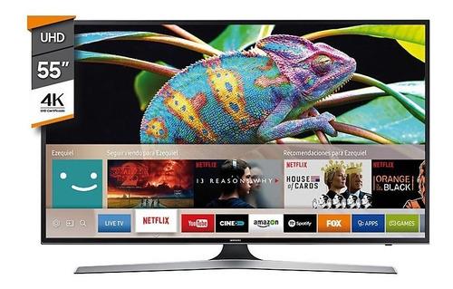 smart tv 55 led ultra hd 4k samsung mu6100