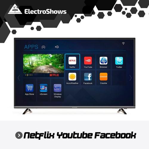 smart tv 60 pulgadas 4k uhd ultra hd youtube netflix cuotas sin interes