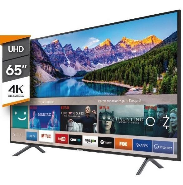 Smart Tv 65 Pulgadas Samsung Led 4k Hdr Wifi Direct Dnla