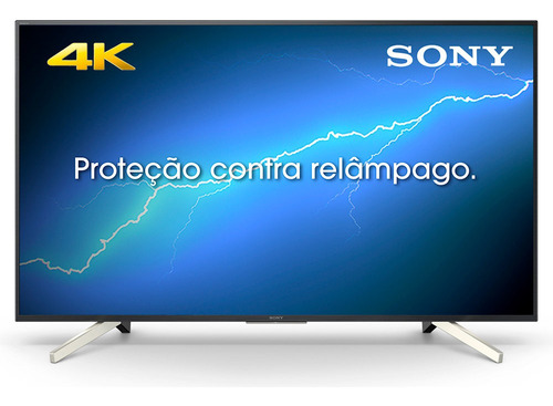 smart tv 65  sony  led 4k hdr android tv smart & durável kd-
