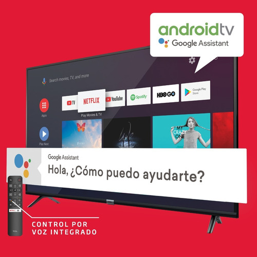 smart tv android  tcl 32 wifi bluetooth youtube netflix hd