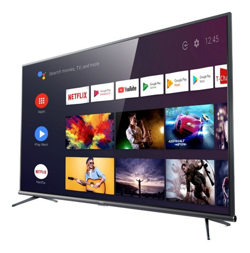 smart tv android tcl 50  l50p8m uhd 4k 3596