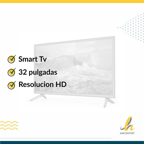 smart tv bgh ble3218rtx 32p hd led netflix hdmi lhconfort