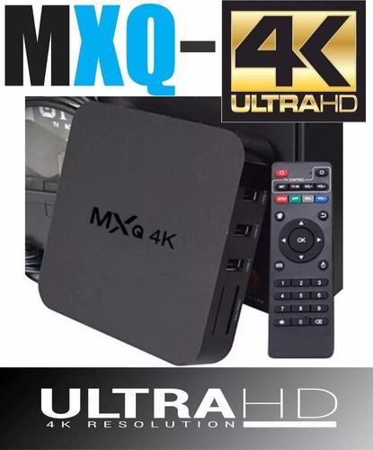 smart tv box 4k 8gb android 7 + hdmi + control