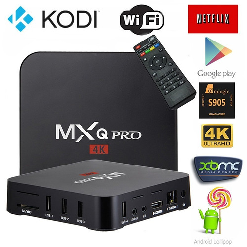 smart tv box 4k ultra hd android gocy 64821