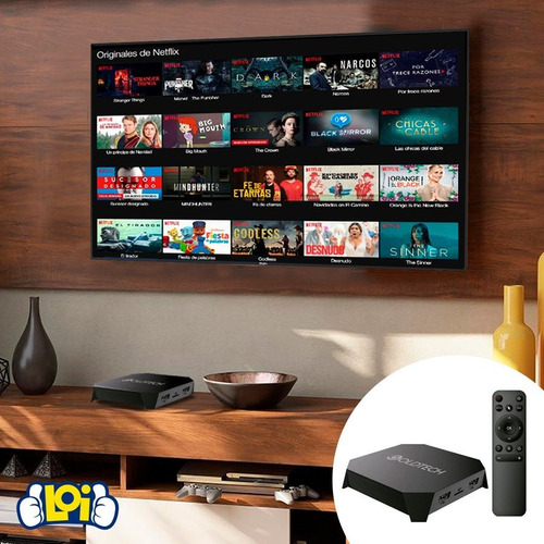 smart tv box 4k ultrahd quad core 16gb 2gb android loi