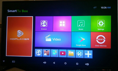 smart tv box android 6.0 4k wifi hdmi netflix sst95n + hdmi