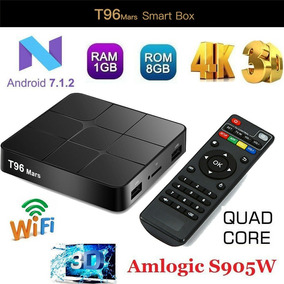 Smart Tv Box Android 7 1 T96 Mars Bluetooth 2 Ram/16gb Lince