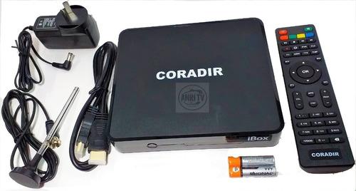 smart tv box android convertidor + sintonizador tda..anri tv