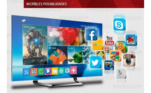 smart tv box android tv full hd quad core 4k + mini teclado