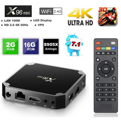 smart tv box converti tu led mini pc 4k android netflix
