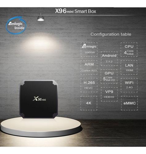 smart tv box converti tu led mini pc 4k android netflix