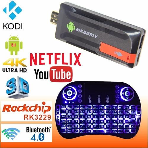 smart tv box converti tu tv en android full hd 4k 1 año garantia !! play store netflix youtube todo en tu tv + teclado !