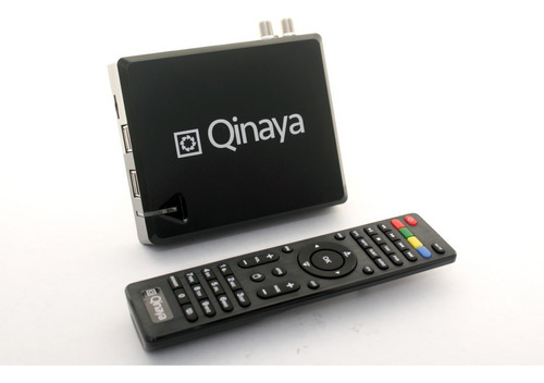 smart tv box + decodificador tdt  qinaya