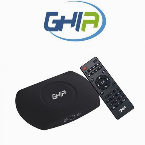 smart tv box ghia gac-009 quad 1gb 8gb wifi hdmi