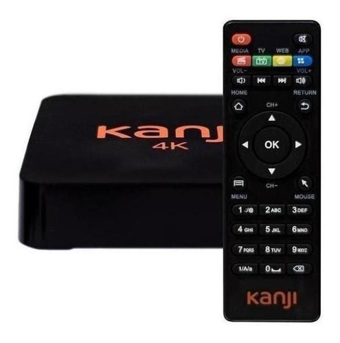 smart tv box kanji 4k 1gb/2usb/micro sd/ c control