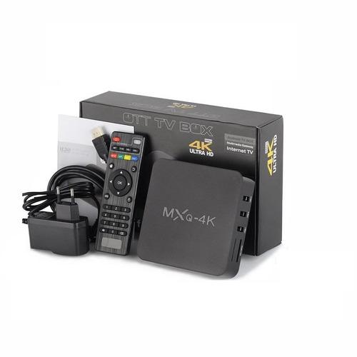 smart tv box mxq 4k android - youtube - kodi - juegos y mas