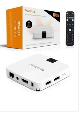 smart tv box mygica atv495x 4k hdmi  64bit android 6.0