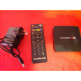 Smart Tv Box Noga Pc Live Conexion Hdmi, Rj45 Y Dos Usb