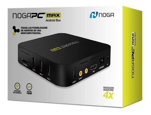 smart tv box noganet 8gb/android 7.1/1080p nogapc max