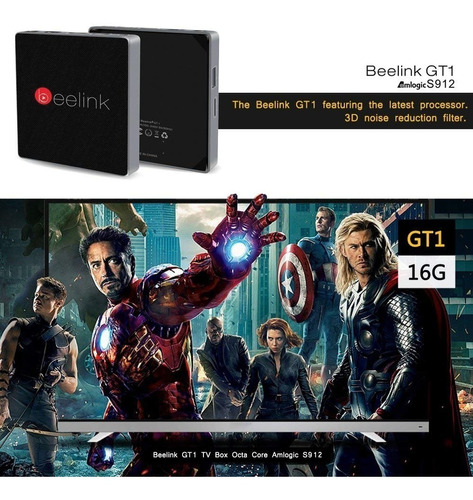 smart tv box s912/2/16   android wifi netflix chrome youtube