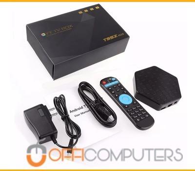 smart tv box t95z plus 8 core 3g 32g android 7 bt + teclado