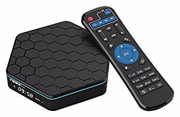 smart tv box t95z plus octa core android 7.0 kodi + teclado
