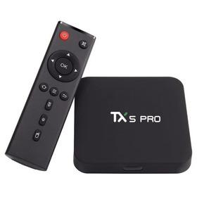 Smart Tv Box Tx5 Pro 2gb 16gb Com Teclado  Luminoso
