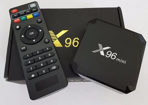 smart tv box x96 mini 2gb/16gb 4k android 7 netflix youtube