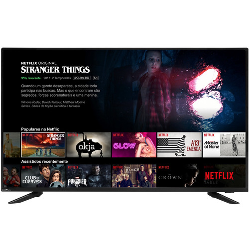 smart tv britânia led 40  netflix bivolt