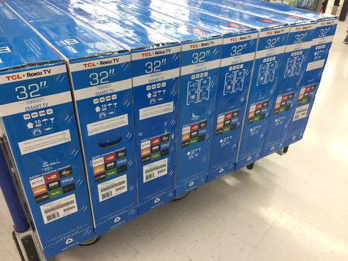 smart tv con roku tv integrado 32 pulgadas hd / pagos a msi