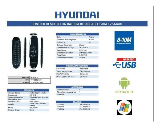 smart tv control  remoto  con  batería recargable hyintrcs