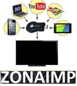smart tv convertidor ezcast convierte tu tv normal en smart